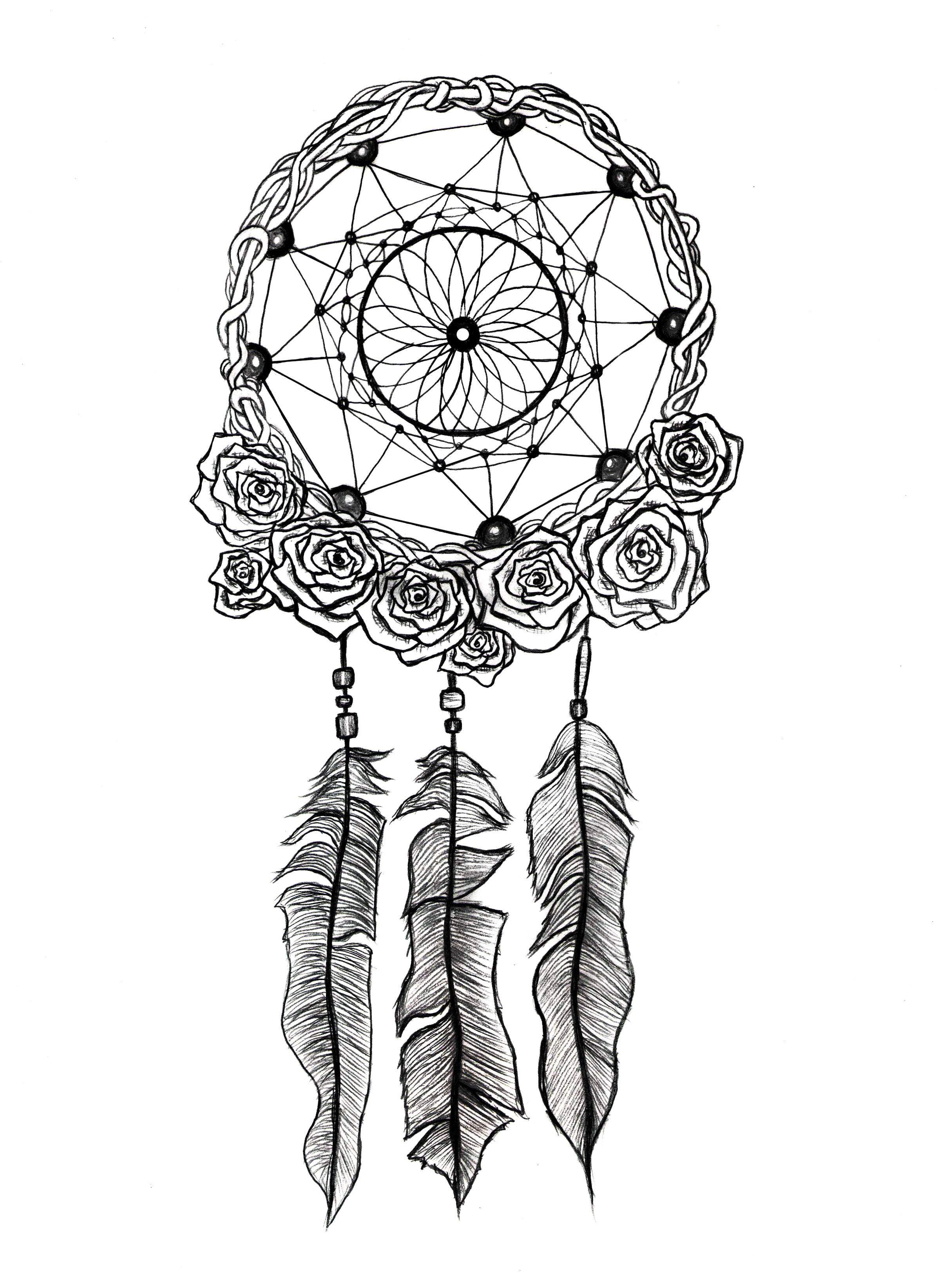 Gallery For gt Traditional Dream Catchers Drawings